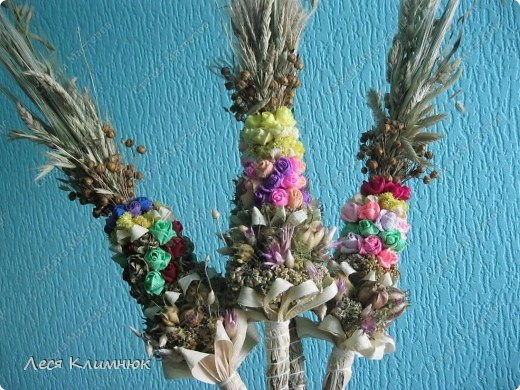 Пальмы,которые святятца вместе с вербой, на Вербное воскресенье. фото 1