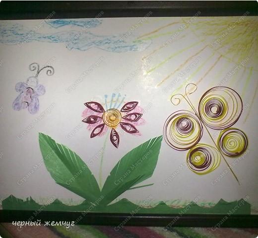 Эту поделку сделала моя дочь Катюша.