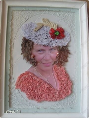 "Портрет моей подруги ""Натали в розовом"" фото 1"