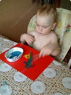 """Когда доча заболела, стала плаксивой, вялой. Тогда я ей предложила порисовать """"Волшебными красками"""", она не отказалась. Вот что у нас получилось... фото 7"""