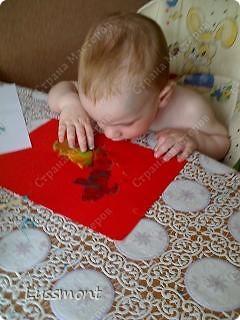 """Когда доча заболела, стала плаксивой, вялой. Тогда я ей предложила порисовать """"Волшебными красками"""", она не отказалась. Вот что у нас получилось... фото 9"""