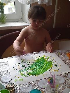 """Когда доча заболела, стала плаксивой, вялой. Тогда я ей предложила порисовать """"Волшебными красками"""", она не отказалась. Вот что у нас получилось... фото 19"""