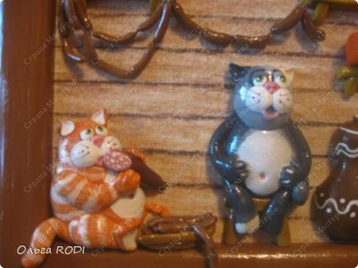Коты в кладовке - одна из любимых моих работ. Идея котов подсмотрена на бескрайних просторах интернета. фото 4