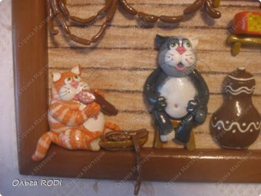 Коты в кладовке - одна из любимых моих работ. Идея котов подсмотрена на бескрайних просторах интернета. фото 2