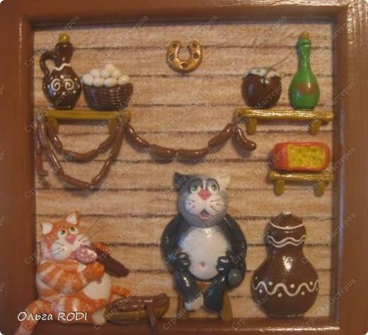 Коты в кладовке - одна из любимых моих работ. Идея котов подсмотрена на бескрайних просторах интернета. фото 1
