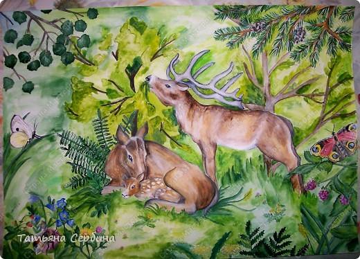 Эту лесную семейку придумали и нарисовали вместе со старшей дочкой: фото 1