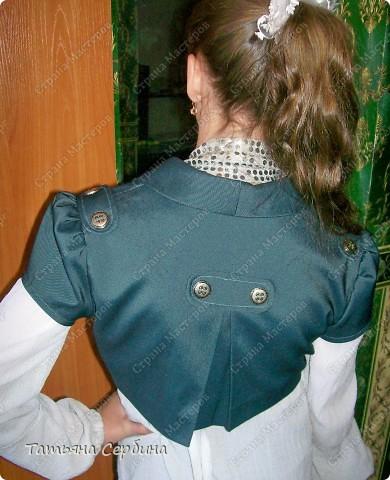 Первое платье, которое я сшила старшей доченьке на выпускной в садик. Модель придумала сама: фото 17