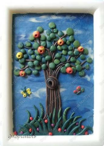 Дерево из пластилина. Поэтапное выполнение. Страна Мастеров