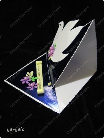"""Идею этой открытки мне подсказала Наташа (Nataliya k) Я получила от неё целую папку с рисунками, фото, стихами и идеями для Последнего звонка.  Девиз открытки нашла у Светы-Конфеты, которая порадовала меня целой подборкой изречений. Девочки СПАСИБО вам большое. Так здорово чувствовать вашу заинтересованность и поддержку! Итак, открытка №7 """"Лети высоко! Даже небо - не предел!"""" Осталось 8!  фото 5"""