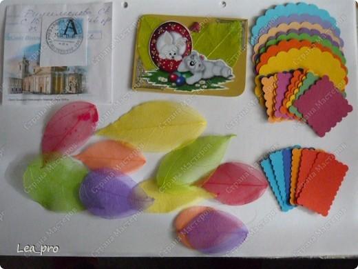 Это подарки от Филюши. Светочка! Спасибо огромное! Листочки ажурные- смотрю  и тихо пищу от восторга! фото 1