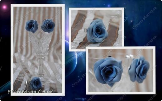 Свадебный комплектик: 3 шпильки и серьги-клипсы фото 12