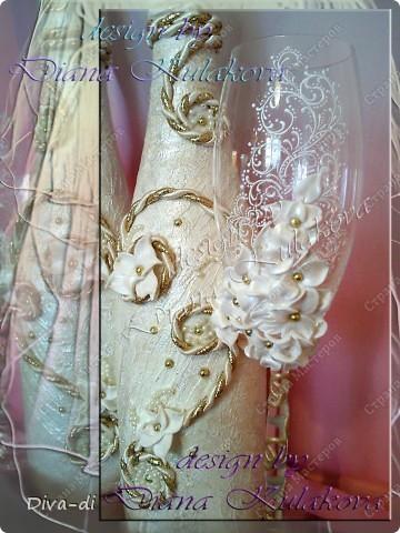 Свадебные бокалы + набор фото 8