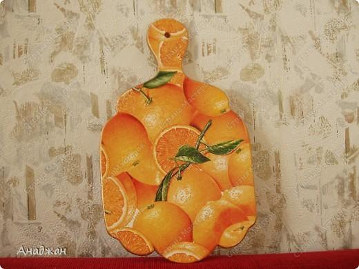"Набор ""Оранж"", досочка ""Весенняя корзинка, Витраж ""Бабочки летают"" фото 4"