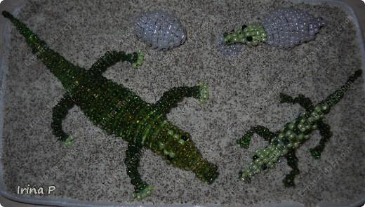 Розочки из бисера. фото 4