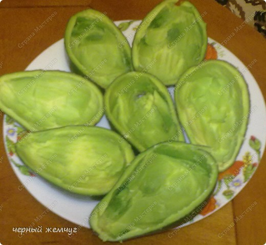 Салат из авокадо и морепродуктов.  Ну очень вкусный!!! фото 6