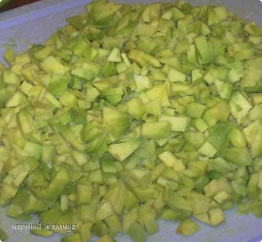 Салат из авокадо и морепродуктов.  Ну очень вкусный!!! фото 7