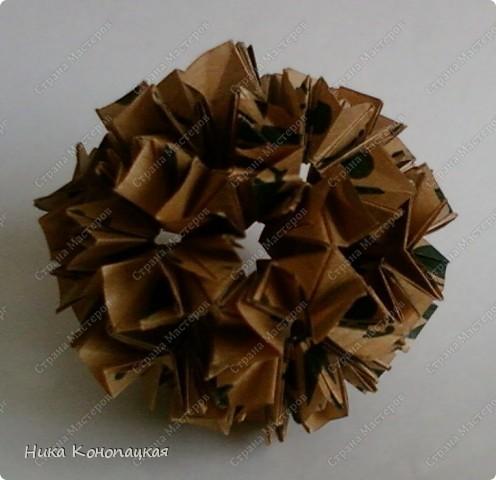 Name: Suzaku  Designer: Mio Tsugawa  Parts: 30  Paper:5*10cm  Joint: glue фото 2