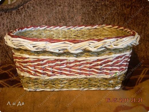 Насмотрелась на корзинки на чешском сайте,захотела сделать что-нибудь подобное. фото 1