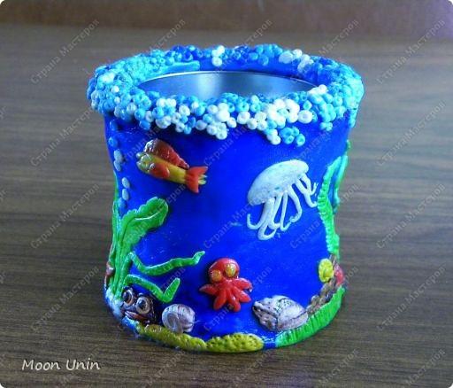 """Карандашница """"Морские глубины"""" фото 2"""