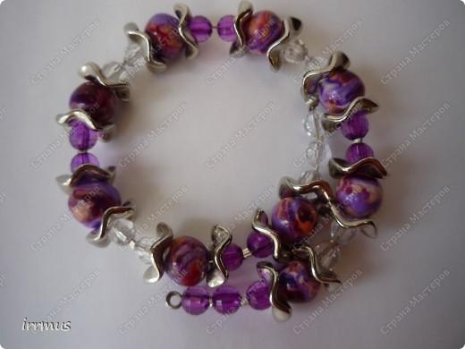 комплект -ожерелье и серьги. фото 3