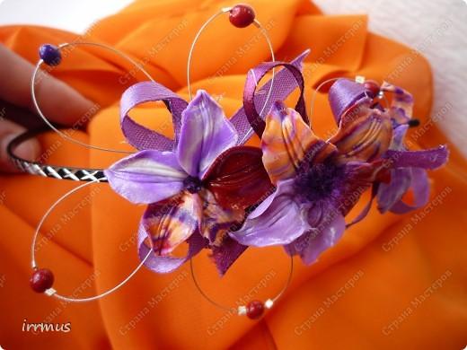 комплект -ожерелье и серьги. фото 8