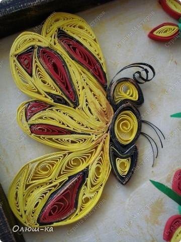 И снова здравствуйте! Вот и я решила сделать бабочку. А получилась или нет, решать Вам.  фото 4