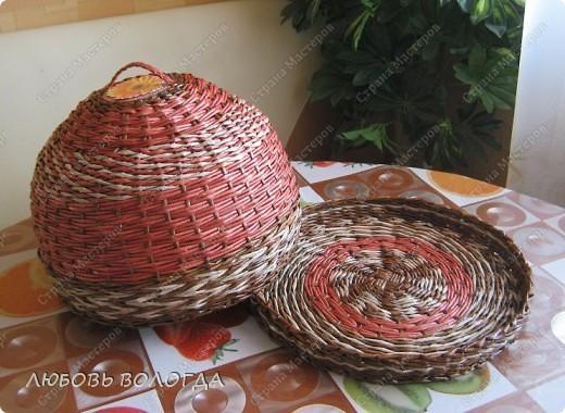 Мастер-класс Поделка изделие Плетение Колпак Колпакович Трубочки бумажные фото 1