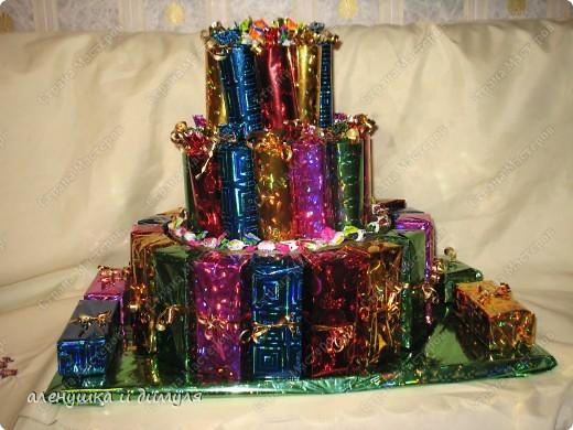 захотелось дочке на день рождения приготовить в сад вот такой тортик для угощения детишек фото 1