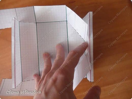 Приветствую в гостях тех, кто размышляет из чего и как сделать коробки для бокалов. Коробочки, конечно, не шикарные, но их вполне достаточно чтобы донести бокалы до пункта назначения). Свои коробочки делаю из ВАТМАНА. фото 6