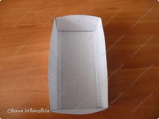 Приветствую в гостях тех, кто размышляет из чего и как сделать коробки для бокалов. Коробочки, конечно, не шикарные, но их вполне достаточно чтобы донести бокалы до пункта назначения). Свои коробочки делаю из ВАТМАНА. фото 9