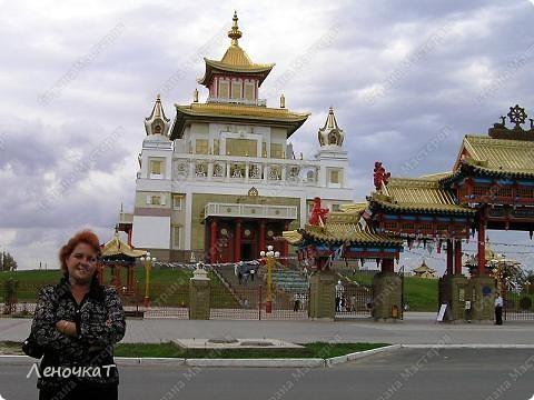 Знакомтесь. Столица Калмыкии- город Элиста. Почему-то многие считают, что это чуть ли не заграница....Ошибаются конечно же.А это Пагода... фото 5