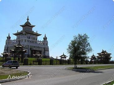 Знакомтесь. Столица Калмыкии- город Элиста. Почему-то многие считают, что это чуть ли не заграница....Ошибаются конечно же.А это Пагода... фото 6
