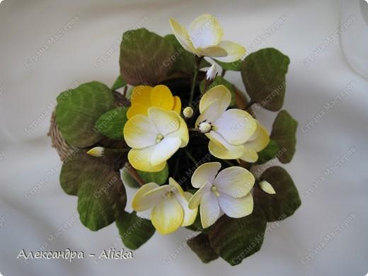 Добрый день !  Теперь я решила попробовать технику работы с кристальной бумагой. Представляю вам мои цветочки - это первые работы.  Орхидея.  фото 5
