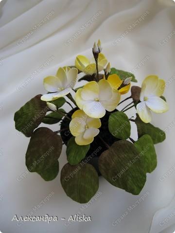 Добрый день !  Теперь я решила попробовать технику работы с кристальной бумагой. Представляю вам мои цветочки - это первые работы.  Орхидея.  фото 7