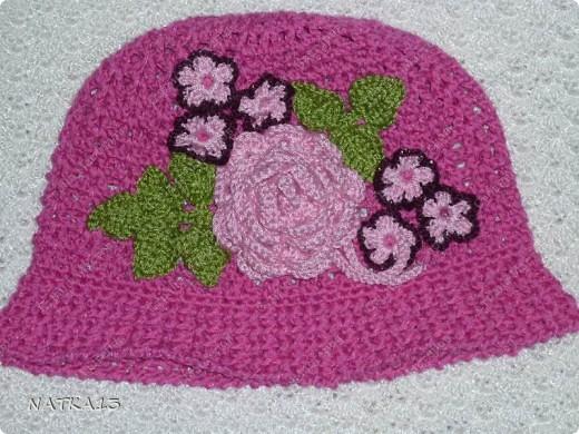 весь апрель выполняла заказ...это комплект:шапочка+шарфик фото 2