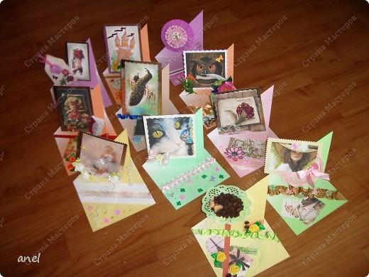 (1) Эта открытка для учительницы русского языка,она очень похожа на изображенную девушку. фото 2