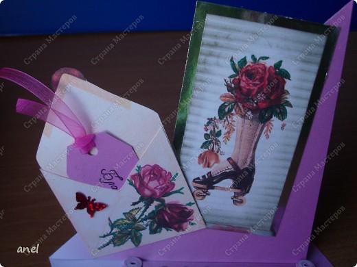 (1) Эта открытка для учительницы русского языка,она очень похожа на изображенную девушку. фото 30