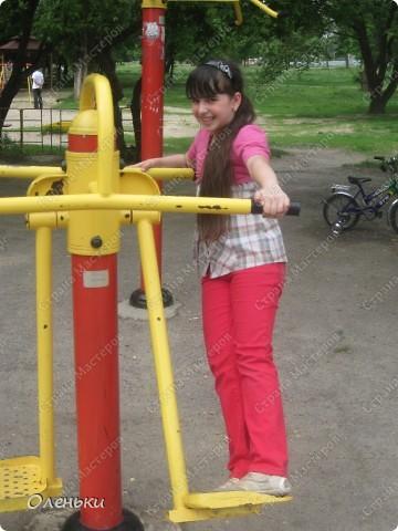Вот такие комплексы стоят в парках и скверах Харькова фото 8