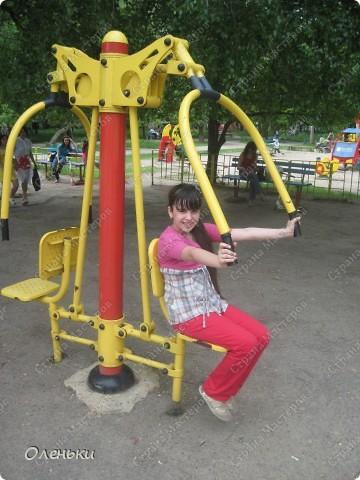 Вот такие комплексы стоят в парках и скверах Харькова фото 11