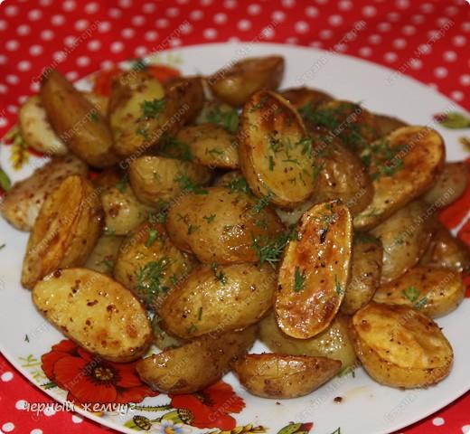 Картофель молодой запеченый. фото 4