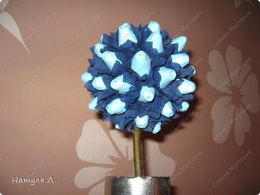Девочки, хочу немного рассказать и показать как я делаю такие деревья.  По бутонам роз смотрите здесь  http://stranamasterov.ru/node/192686   фото 15