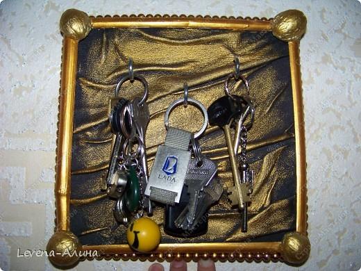 """""""Блестящее Золото""""- Ключница  фото 1"""