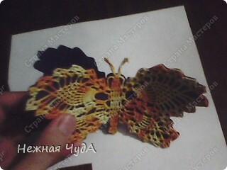 Открытка-бабочка фото 2