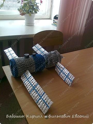 эту модель мы сделали с одноклассником Жекой Б. фото 5