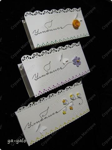 Увидела сегодня у Ирины (Голубка) http://stranamasterov.ru/node/199413#comment-1738988 эти интересные мини-открытки и решила попробовать. Именно такие полоски акварельной бумаги остаются у меня, когда я делаю свои любимые уголочки)) Их у меня уже накопилось довольно много. Былау меня мысль сделать из них маленькие открытки, а оказывается их уже изобрели и даже назвали до меня))) фото 2