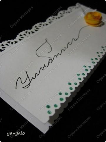 Увидела сегодня у Ирины (Голубка) http://stranamasterov.ru/node/199413#comment-1738988 эти интересные мини-открытки и решила попробовать. Именно такие полоски акварельной бумаги остаются у меня, когда я делаю свои любимые уголочки)) Их у меня уже накопилось довольно много. Былау меня мысль сделать из них маленькие открытки, а оказывается их уже изобрели и даже назвали до меня))) фото 7