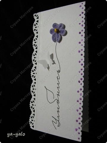 Увидела сегодня у Ирины (Голубка) http://stranamasterov.ru/node/199413#comment-1738988 эти интересные мини-открытки и решила попробовать. Именно такие полоски акварельной бумаги остаются у меня, когда я делаю свои любимые уголочки)) Их у меня уже накопилось довольно много. Былау меня мысль сделать из них маленькие открытки, а оказывается их уже изобрели и даже назвали до меня))) фото 3