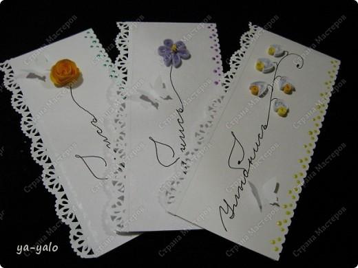 Увидела сегодня у Ирины (Голубка) http://stranamasterov.ru/node/199413#comment-1738988 эти интересные мини-открытки и решила попробовать. Именно такие полоски акварельной бумаги остаются у меня, когда я делаю свои любимые уголочки)) Их у меня уже накопилось довольно много. Былау меня мысль сделать из них маленькие открытки, а оказывается их уже изобрели и даже назвали до меня))) фото 1