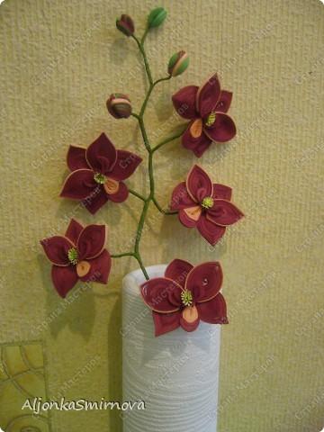 Вот такую орхидею я сделала на одном дыхании! фото 1