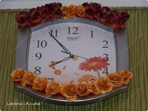 """""""Время цветов""""-Декор настенных часов"""